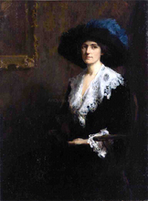 Portrait of Mrs. Jane Byron Johnston
