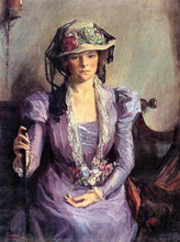 The Lady In Lavender