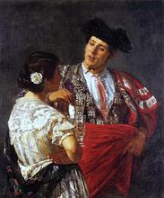 Offering the Panel to the Bullfighter - Mary Cassatt