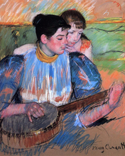 A Banjo Lesson - Mary Cassatt