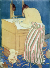 The Bath - Mary Cassatt