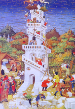 Building of the Tower of Babel - Master of Bedford