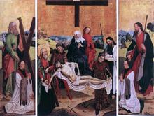 Triptych of Canon Gerhard ter Streegen de Monte