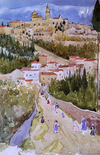 Assisi - Maurice Prendergast