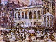 Boston, Snowy Day - Maurice Prendergast