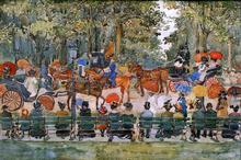 Central Park - Maurice Prendergast
