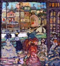East Boston Ferry - Maurice Prendergast