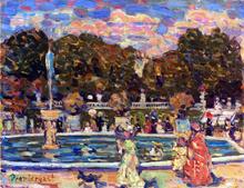 Luxembourg Gardens - Maurice Prendergast