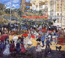Madison Square - Maurice Prendergast