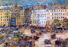 Montparnasse - Maurice Prendergast