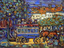Cars and Buses Paintings