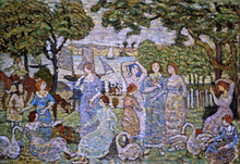 The Swans - Maurice Prendergast