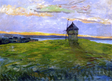 Landscape with Mill - Maxime Maufra