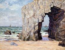 L'Arche de Port blanc presq L'Ile de Quiberon - Maxime Maufra