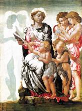 Madonna and Child with St John and Angels