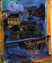 Paris, Montparnasse at Night