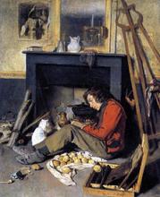 Studio Interior - Octave Tassaert