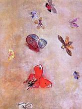 Butterflies - Odilon Redon