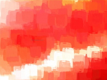 Blurred Red Abstract - Our Original Collection