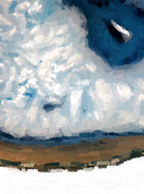 Paintings - Cloudy Skies - Our Original Collection