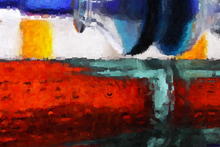 Oil painting - Pipe Flow - Our Original Collection