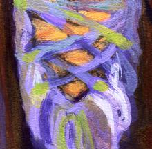 Oil painting reproduction - Purple Dance Shoe - Our Original Collection