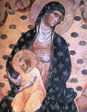 Doge Francesco Dandolo and his Wife Presented to the Madonna (detail)