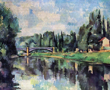 Bridge over the Marne - Paul Cezanne