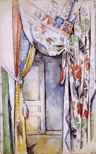 Curtains - Paul Cezanne