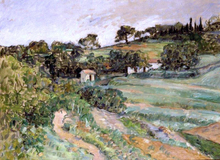 Landscape in Provence - Paul Cezanne