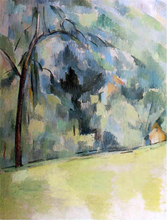Morning in Provence - Paul Cezanne