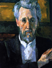 A Portrait of Victor Chocquet - Paul Cezanne