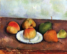 Still Life - Plate and Fruit