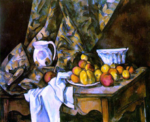 Still Life with Flower Holder - Paul Cezanne