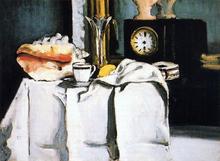 The Black Clock - Paul Cezanne