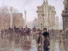 Dewey's Arch - Paul Cornoyer