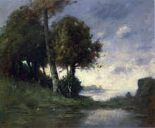 Banks of the Marne, Near Angers