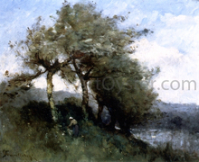 Landscape with Woman