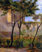 Corner of the Garden, rue Carcel - Paul Gauguin