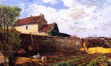 Geese on the Farm - Paul Gauguin