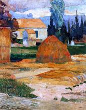 Haystack, near Arles