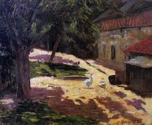 Henhouse - Paul Gauguin