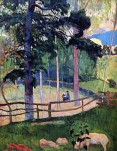 Nostalgic Promenade - Paul Gauguin