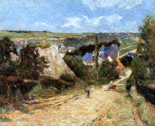 Street, Osny - Paul Gauguin
