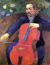 The Cellist (also known as Portrait of Fritz Scheklud)