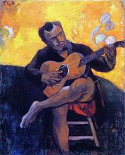 The Guitar Player - Paul Gauguin