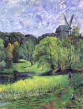 The Queen's Mill, Austervold - Paul Gauguin