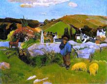 A Swineheard - Paul Gauguin