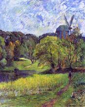 Windmil, Ostervold Park - Paul Gauguin