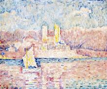 Cap d'Antibes - Paul Signac